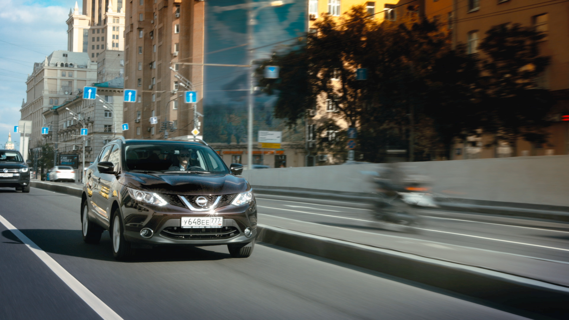 Nissan QASHQAI | postproduction